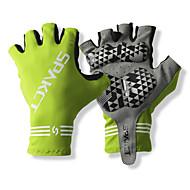 SPAKCT スポーツグローブ 保温 耐久性 高通気性 保護 耐衝撃性の フィンガーレス ビニラール レジャースポーツ サイクリング / バイク 男性用 女性用 男女兼用