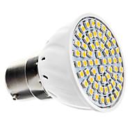 billige Spotlys med LED-3000 lm B22 LED-spotpærer 60 leds SMD 3528 Varm hvit AC 220-240V