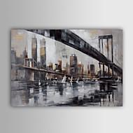 halpa -Hang-Painted öljymaalaus Maalattu - Maisema Klassinen Perinteinen Kangas