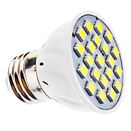 e14 e26 / e27 led spotlight mr16 21 smd 5050 240lm varm hvit kald hvit 6500k ac 220-240 ac 110-130v