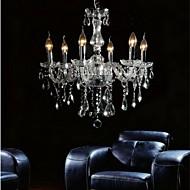 baratos -QINGMING® Cristais Lustres Luz Superior - Cristal, 110-120V / 220-240V Lâmpada Não Incluída / 50-60㎡ / E12 / E14