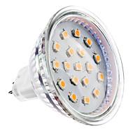 billige Spotlys med LED-2W 150-200lm GU5.3(MR16) LED-spotpærer MR16 15 LED perler SMD 2835 Varm hvit 12V