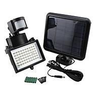 9975520 60-LED Kirkas Solar Power Motion Sensor Security Wall Light Flood Lamppu Spotlight