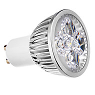 4W GU10 LED Spotlight 4 leds Warm White Cold White 400lm 3500/6000K AC 220-240V