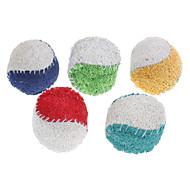 犬用おもちゃ ペット用おもちゃ ボール型 歯磨き用おもちゃ ヘチマ&スポンジ テニスボール 織物
