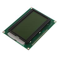 """5V 3,2 """"LCD12864 skjerm modul med bakgrunnsbelyst (Yellow & Green Screen / Norsk Word Stock)"""