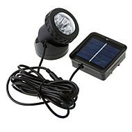6 LED-uri impermeabil Solar Powered Spotlight Garden Lamp inundații în aer liber