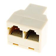 RJ45 1-2 kabel LAN mreže Y Splitter Extender Plug