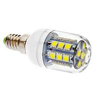 E14 LED corn žárovky T 27 lED diody SMD 5050 405lm Chladná bílá 6000