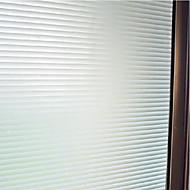 tanie סרטים ומדבקות לחלון-Naszywka קלאסי Folia okienna, PVC/Vinyl Materiał Dekoracja okna Biuro Salon Łazienka