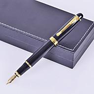 osobní dar premium business styl black metal ryté inkoustové pero