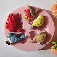 hesapli -Bakeware araçları Silikon Çevre-dostu / Kendin-Yap Kek / Kurabiye / Tart Hayvan Pişirme Kalıp 1pc