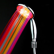 cheap Shower Heads-ABS Water Powered Color Changing LED Hand Shower High Quality