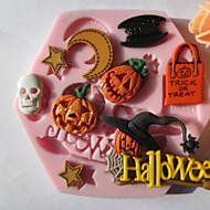 baratos Utensílios para Biscoitos-Ferramentas bakeware Silicone Amiga-do-Ambiente Bolo Biscoito Chocolate Moldes de bolos 1pç