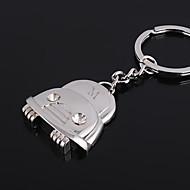 Personalizované ryté dárek Car Shaped Keychain s drahokamu
