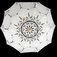 "cheap Wedding Umbrellas-Wedding Lace Umbrella Post Handle 37.8""(Approx.96cm) Wedding Accessories"