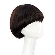 Syntetiske parykker Bob frisure / Med bangs / pandehår Syntetisk hår Paryk Dame