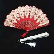 Speciel Lejlighed Fans og parasoller Bryllup Dekorationer Asiatisk Tema / Blomster Tema Sommer