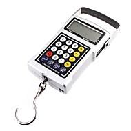 tanie Wagi-50 kg Waga 20g LCD zegar wiszące Skala bagaży wędkowanie