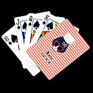 voordelige aangepaste Kaarten-Gepersonaliseerde Gift Roze Schoonheid Patroon Speelkaart