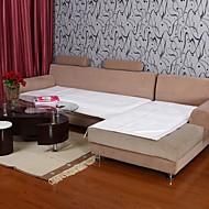כרית ספה לבנה דפוס הלוטוס שָׂפָה קטיפה הקצרה איליין 334,025