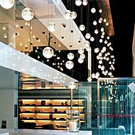tanie Oświetlenie designerskie-Współczesne kryształowe 1 wisiorek Globe Shade światła