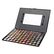 billiga Ögonmakeup-Make-up For You 88pcs Öga Ögonskuggor Puder Festmakeup / Sotig makeup / Skimmrig
