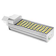 G24 LED-kornpærer T 44 leds SMD 5050 Mulighet for demping Kjølig hvit 792lm 6000-6501K AC 85-265V