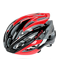 FJQXZ 大人 バイクヘルメット 26 通気孔 耐衝撃性 EPS, PC ロードバイク / サイクリング / バイク - ブラック / レッド 男性用 / 女性用