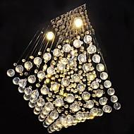 billige Taklamper-SL® Krystall Takplafond Omgivelseslys - Stearinlys Stil, 110-120V / 220-240V Pære Inkludert / GU10 / 20-30㎡