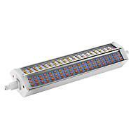 billige Kornpærer med LED-15W R7S LED-kornpærer T 180 leds SMD 3014 Mulighet for demping Varm hvit 650-680lm 2800-3003K AC 220-240V