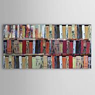 billiga Topp Konstnär-Hang målad oljemålning HANDMÅLAD - Abstrakt Samtida Duk