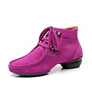 Mulheres camurça Lace-up moderna de dança de salão sapatos de dança sapatilhas (mais cores)