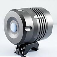 זול פנסים-3 פנסי ראש פנסי אופניים פנס קדמי LED 6000/4000 lm 3 מצב Cree XM-L T6 T6 XM-L2 קריס עם מטען נטענת עמיד במים רכיבה על אופניים רב שימושי שחור