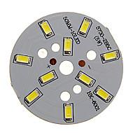 5W 400-450LM Cool White Light 5730SMD integreret LED-modul (15-18V)