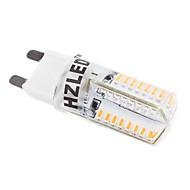 2W G9 LED-kornpærer T 58 leds SMD 3014 Varm hvit 250-350lm 3000K AC 220-240V