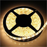 ZDM ™ waterdicht 5m 72W 300 * 5050 SMD 4800lm warm wit licht led strip lamp (12V)