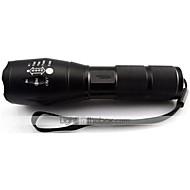 halpa -UltraFire C5 LED taskulamput LED 2000 lm 3 Tila Cree XM-L T6 Zoomable Säädettävä fokus Iskunkestävä Lipsumaton kädensija Ladattava Isku