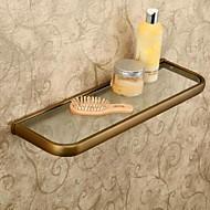 צדף לחדר האמבטיה / עתיקה זכוכית /עתיק