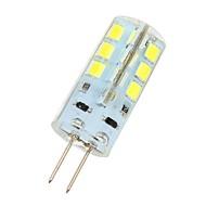 billige Bi-pin lamper med LED-180 lm G4 LED-lamper med G-sokkel 24 LED perler SMD 2835 Kjølig hvit 12 V / # / CE / RoHs