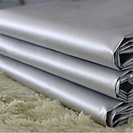 billige Gardiner-to paneler klassiske grå solid pvc gardin for gardiner gardiner