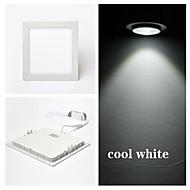 billige Innfelte LED-lys-300 lm Panellys Taklys Innfelt retropassform 15 leds SMD 2835 Kjølig hvit AC 85-265V