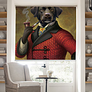 Contemporary Gentleman Dog Roller Shade