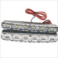 economico Luci diurne-2pcs Auto Lampadine 3W SMD LED 90lm 6 LED Luce di posizione