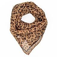 Women's Party / Work Chiffon Square Scarf - Leopard Print / Cute / Cravat & Ascot