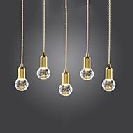 billige Takbelysning og vifter-Mini Anheng Lys Nedlys Gylden Metall Glass Mini Stil, LED 110-120V / 220-240V Pære Inkludert / G9
