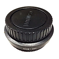 NewYi MD-EOS Minolta MD Lens Adapter w Glass Focus Infinity to Canon EOS 60D 50D 600D 550D Rebel T3i