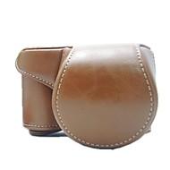 preiswerte Kamera, Foto & Video-dengpin® Schutz abnehmbares Leder Kameratasche mit Schultergurt für Sony Alpha a6000 ILCE-6000l
