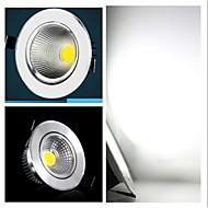 billige Innfelte LED-lys-3W Taklys / Panellys Innfelt retropassform 3 COB 300-350 lm Kjølig hvit AC220 V