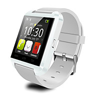 u8 smartwatch kamera melding media kontroll / handsfree samtaler / anti-tapt for android / ios smartphone